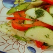 Green Apple, Pepper, Dill Salad
