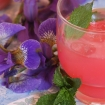 Rhubarb lemonade (dye free pink lemonade)