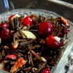 Cranberry Wild Rice Salad (GF, Vegan, Anti Candida, Nut free option)