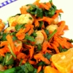Carrot and Chickpea Cumin Salad