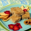 Raw Coconut Breakfast Bars