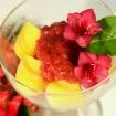 Vegan Rhubarb-Ginger sauce