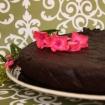 Gluten Free, Vegan Chocolate Cake (Dramatic Date Nite Cake)