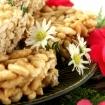 Marshmallow-Free, Dairy Free Rice Krispie Squares