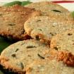 Gluten Free Almond Rosemary Sesame Crackers (Vegan, Paleo)
