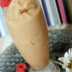 Dairy Free Frozen Orange Ginger Tea Latte