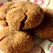 Gluten Free Vegan Molasses Gingersnap Cookies