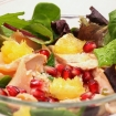 Salmon Pomegranate Salad