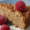 Gluten Free Vegan Banana Snacking Cake (xanthan free, sugar free)
