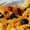 Raw Blackberry Pineapple Butternut Squash Salad