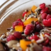 Cranberry Mushroom Pepper Pilaf