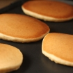 Gluten Free Vegan Fluffy Pancakes! (nut free, sugar free, xanthan free, soy free)