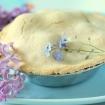 Gluten Free Vegan Pie (xanthan free, dairy free, soy free!) with Blackberries