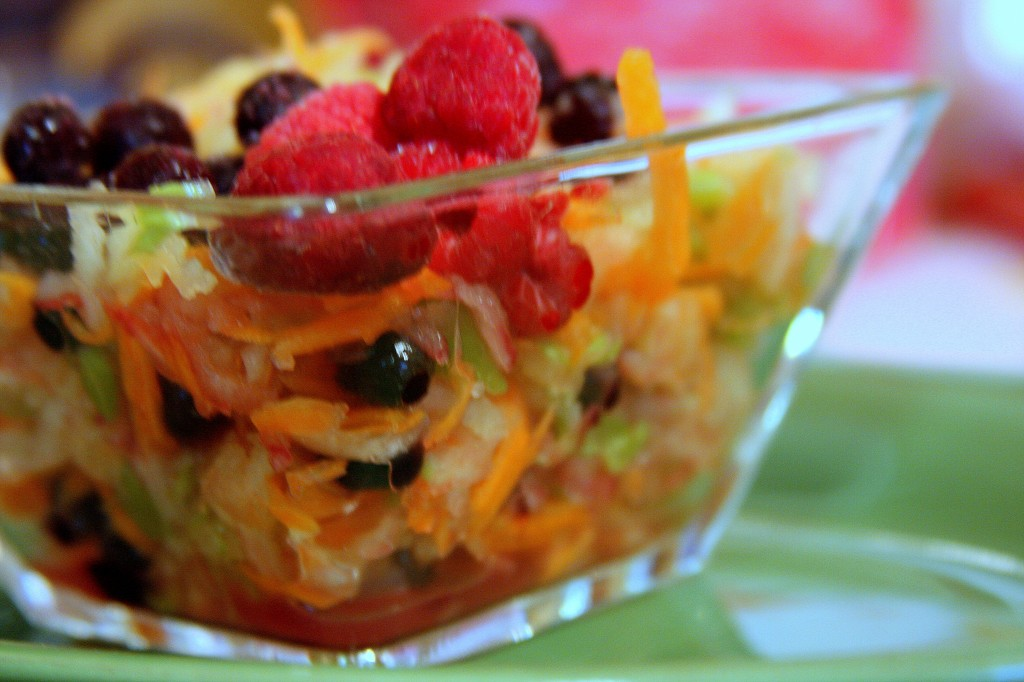 Apple Blueberry Slaw Recipe * Gluten Free Ottawa My Real Food Life