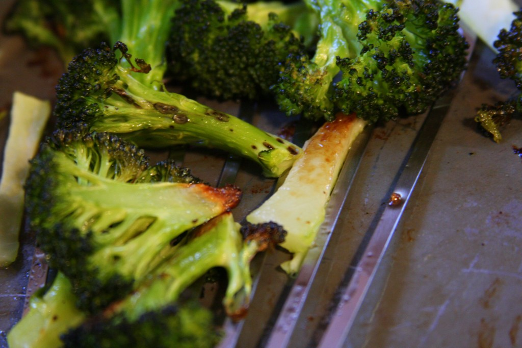 Roasted Broccoli- MyRealFoodLife.com