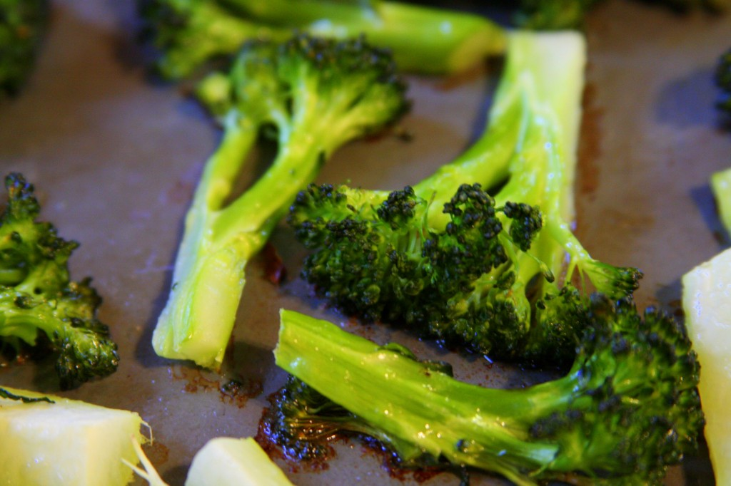 Best Roasted Broccoli Ever - MyRealFoodLife.com