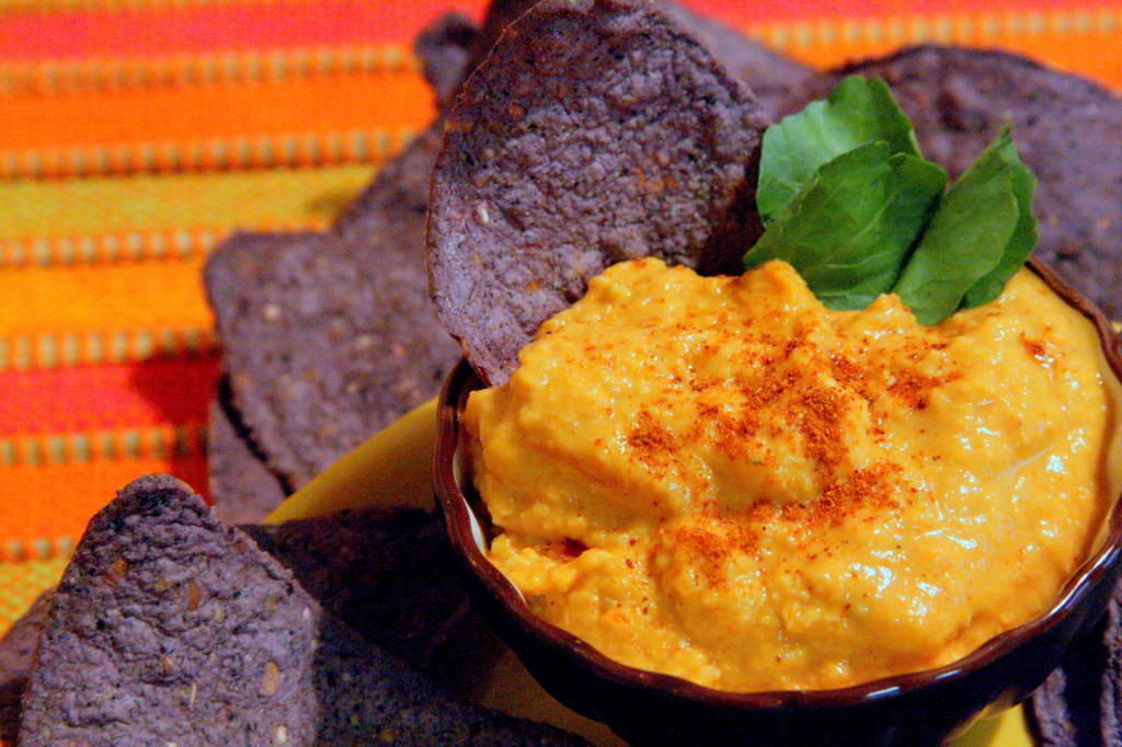 Roasted Red Pepper Hummus Recipe * Gluten Free Ottawa * My Real Food Life