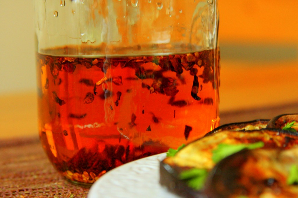 Hot Pepper Infused Olive Oil - MyRealFoodLife.com