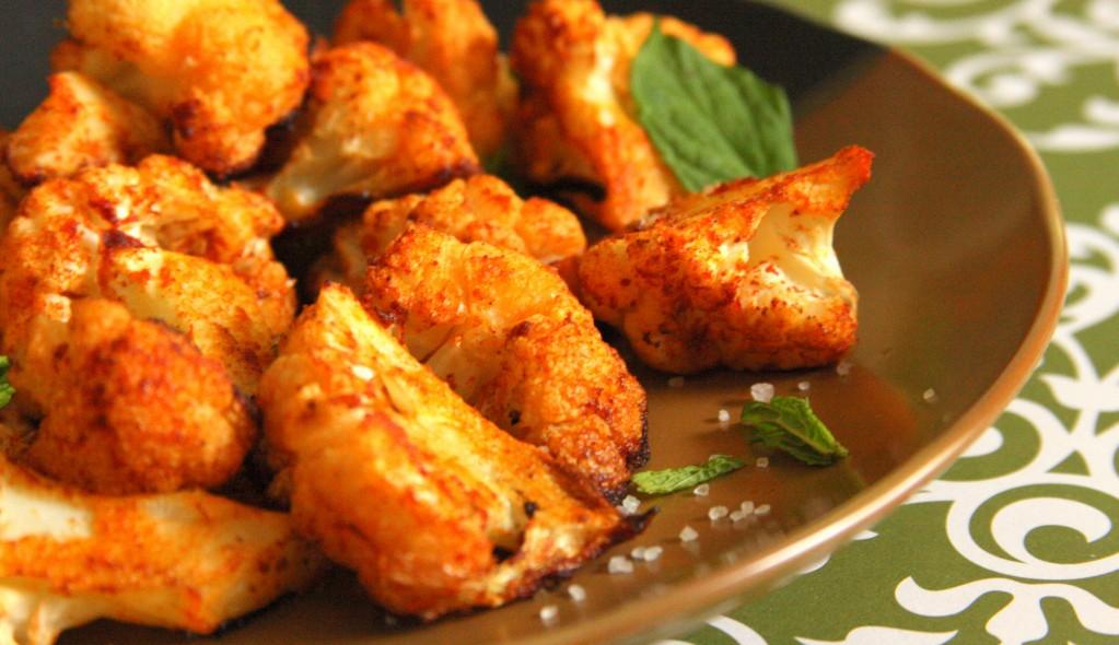 Smokey Paprika Roasted Cauliflower (Vegan, Paleo, GF) MyRealFoodLife.com