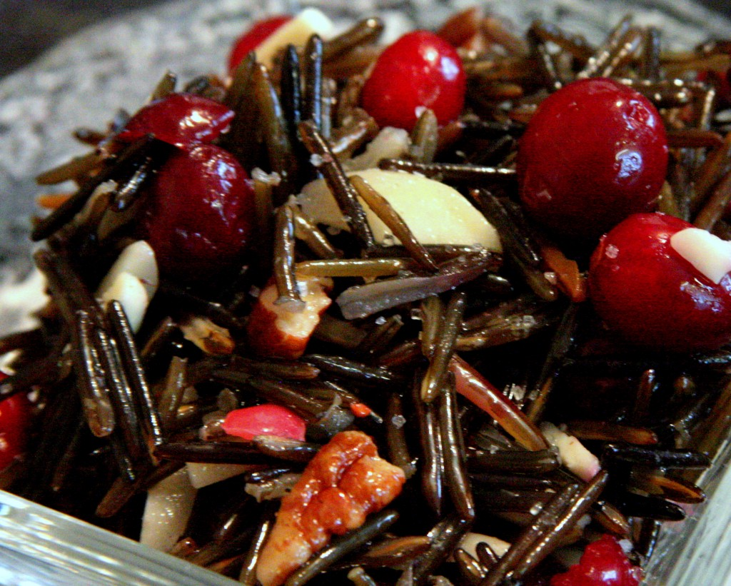 Cranberry Wild Rice Salad Recipe * Gluten Free Ottawa *   My Real Food Life