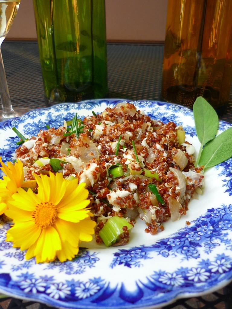 Tilapia Citrus Quinoa Pilaf