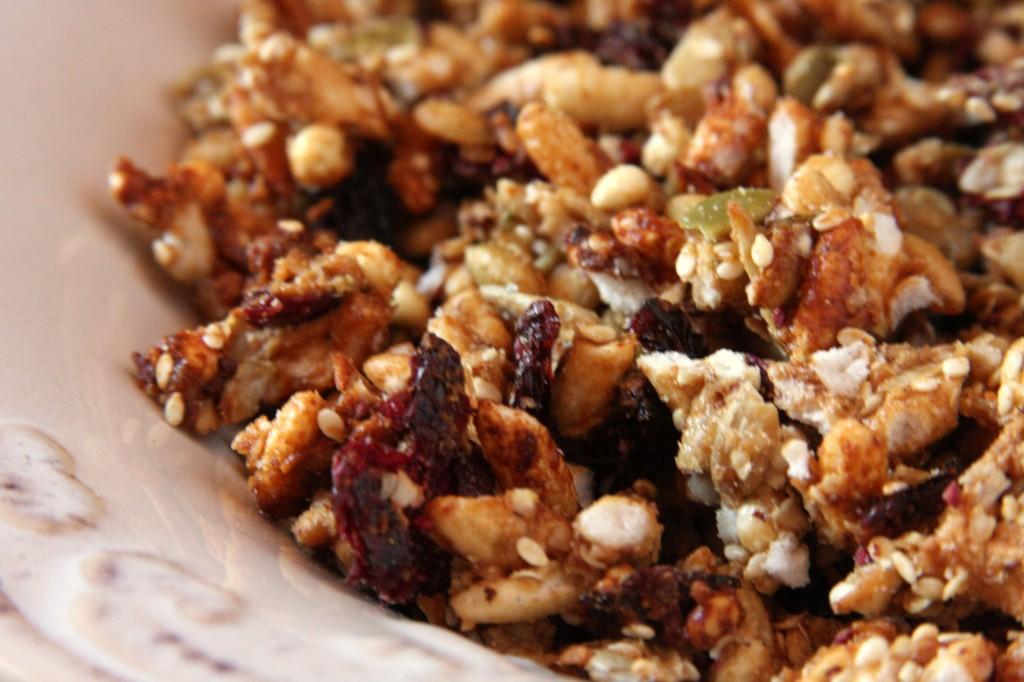 Gluten Free Oat Free Nut Free Granola
