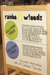 Rainbow Foods Gluten Free Day