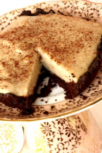 Gluten Free Dairy Free Egg Free Boston Cream Pie