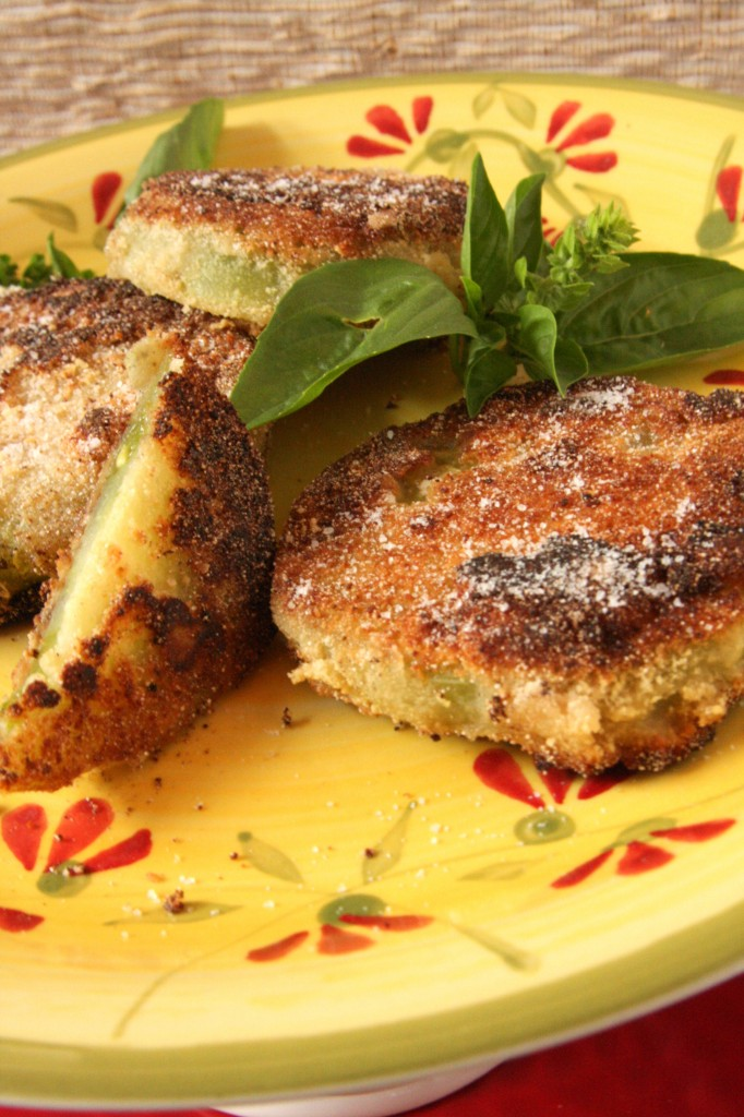 Gluten Free Egg Free Fried Green Tomatoes -MyRealFoodLife.com