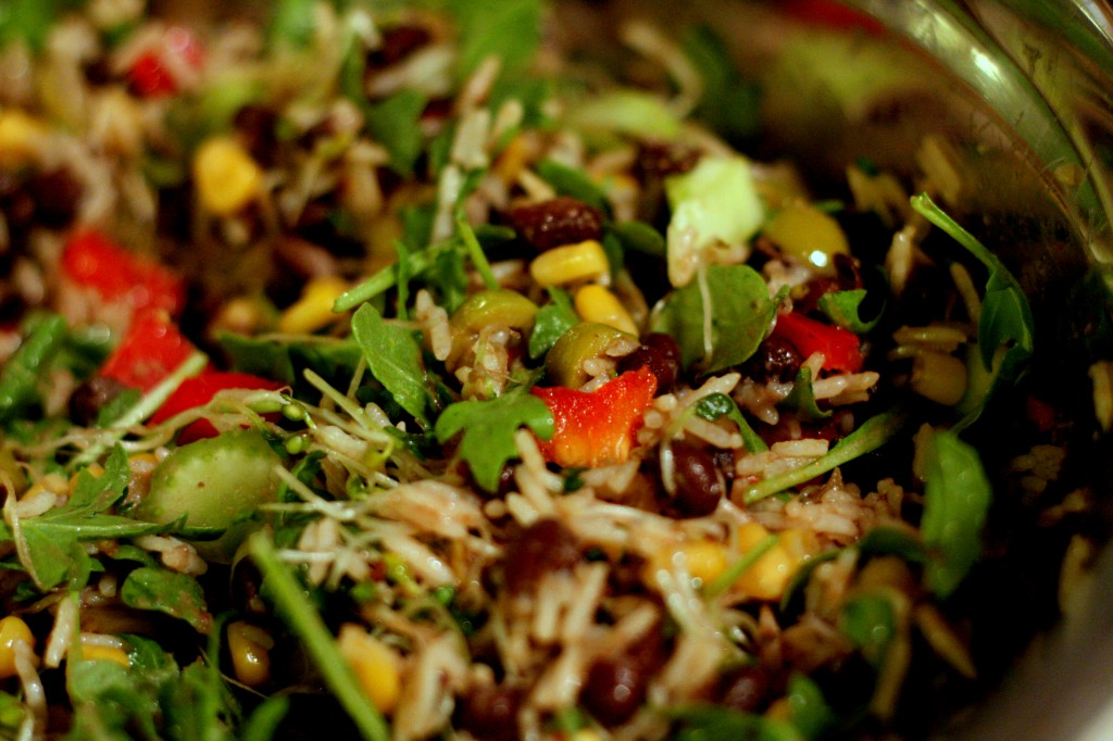 Vegan Tex Mex Salad
