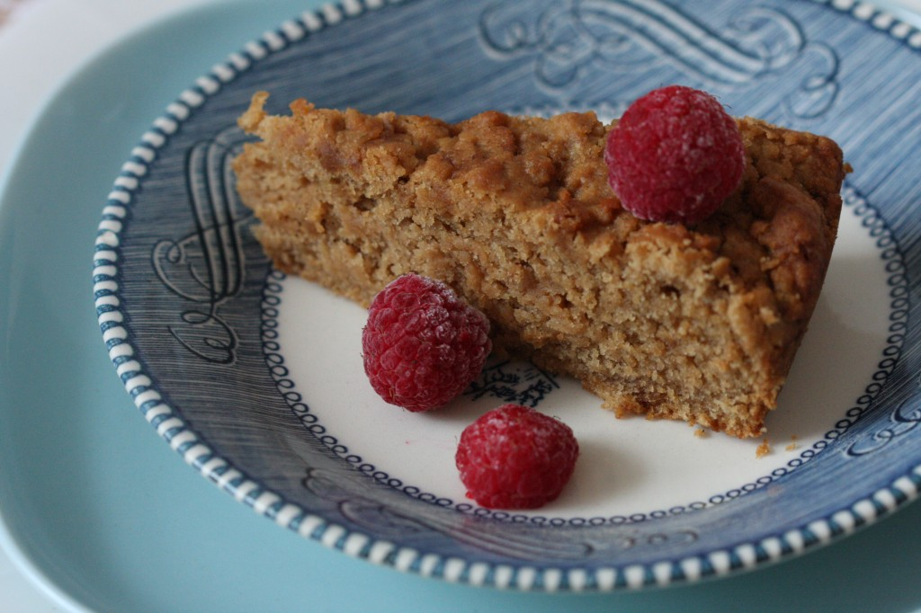 Gluten Free Vegan Banana Snacking Cake (gum free, sugar free, egg free) - MyRealFoodLife.com