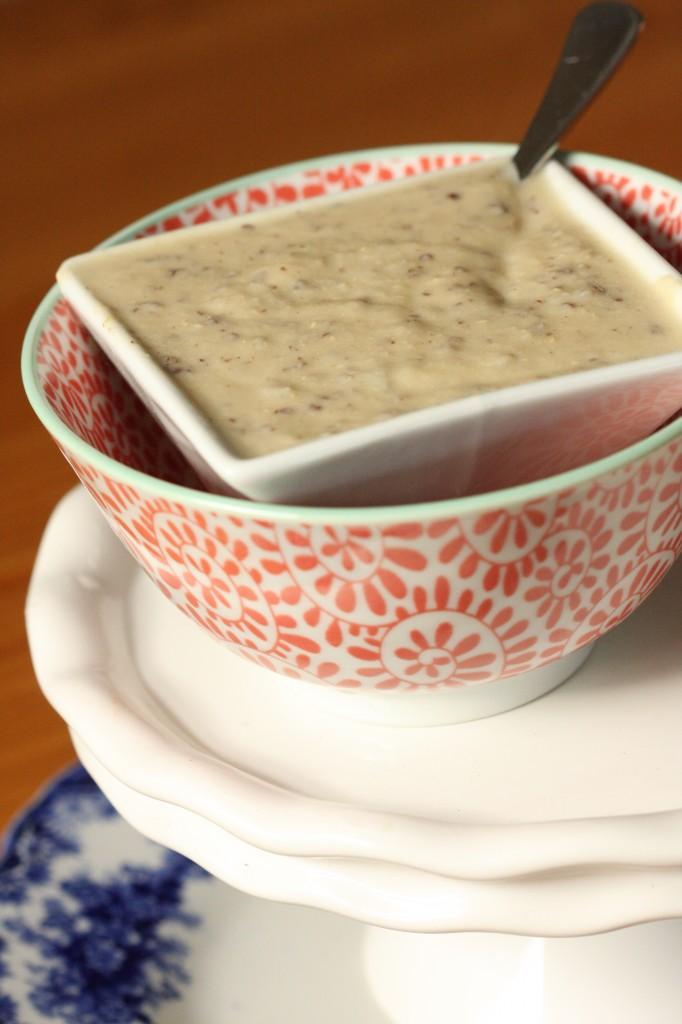 Dairy Free Cream Cauliflower Soup -MyRealFoodLife.com