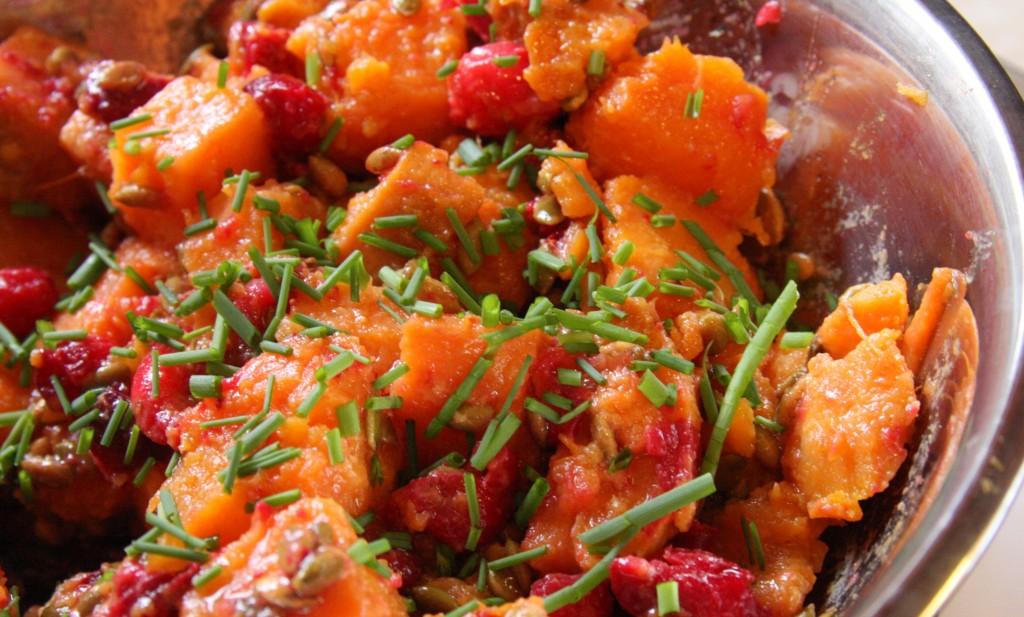 Sweet Potato Salad With Orange-Maple Dressing Recipe ...