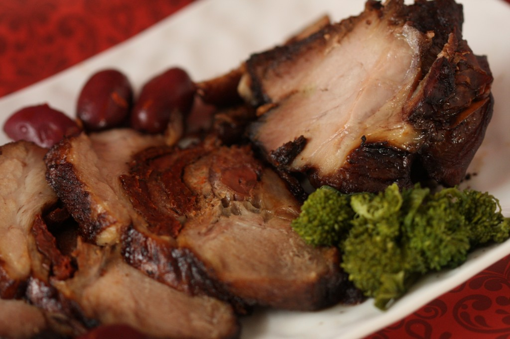 Sundried Tomato and Kalamata Olive Pork Roast- MyRealFoodLife.com