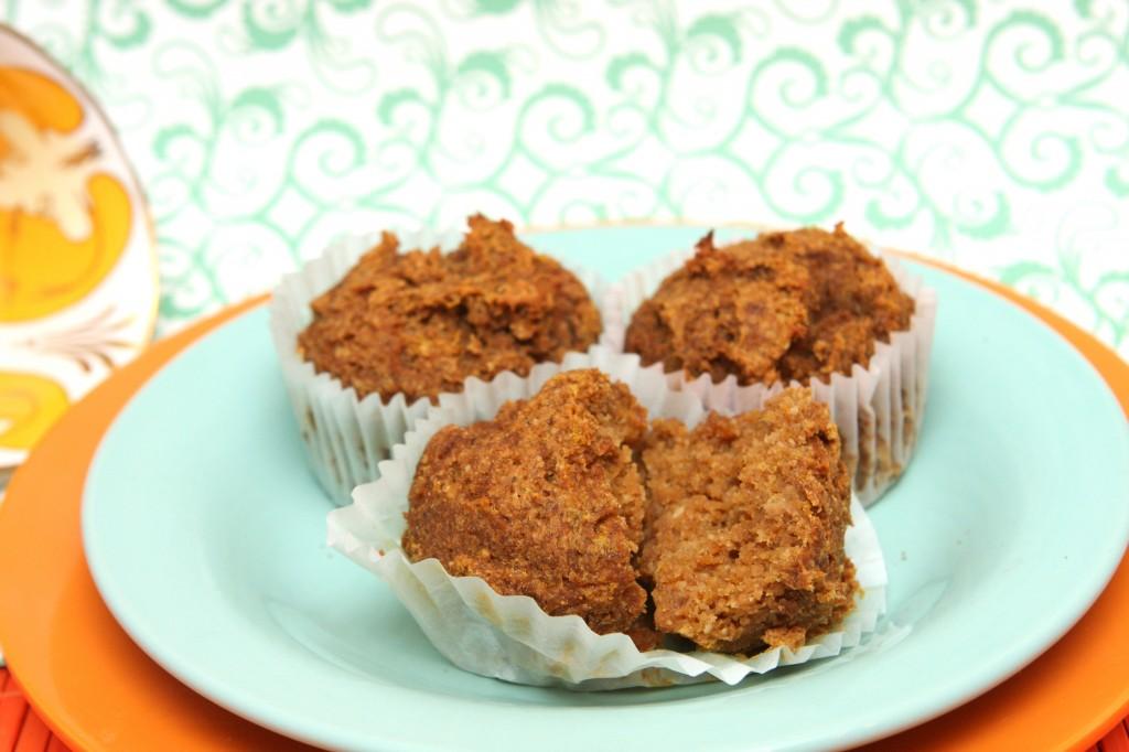 Gluten Free Pumpkin Muffins (Grain Free, Nut Free, Vegan, Primal)- MyRealFoodLife.com
