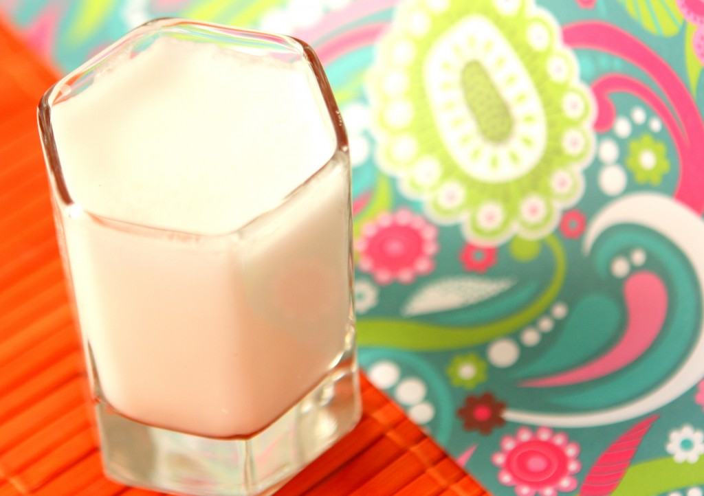 Easy Home Made Coconut Milk- MyRealFoodLife.com